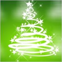 Link toCool green christmas vector