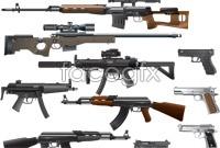 Link toCool gun vector graphics