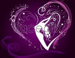 Link toCool heart pattern background vector