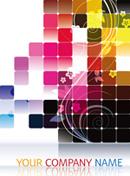 Link toCool high light background vector