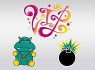 Link toCool hippo vector free