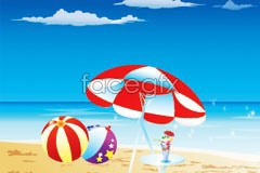Link tovector scenery sea holiday Cool