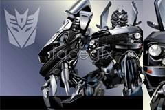 Link toCool metallic transformer vector