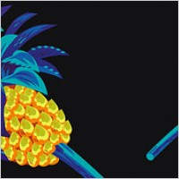 Link toCool pineapple vector material