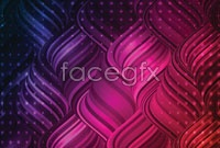 Link toCool purple glare background vector