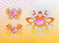 Link toCool shields vector free