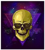 Link toCool skull print vector