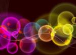 Cool spot light background vector