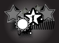 Link toCool star design vector free