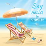 Link toCool summer beach vector