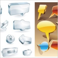 Link toCool threedimensional icon vector