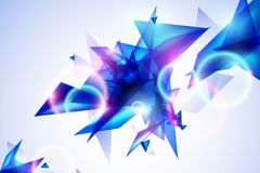 Link toCool triangular background vector
