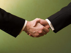 Link toCooperation handshake picture material
