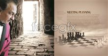 Link toCorporate brochure about chinese chess psd