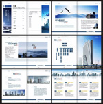 Link toCorporate image brochure vector