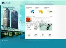Link toCorporate web site high viaduct template psd