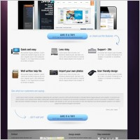 Link toCorporate website psd