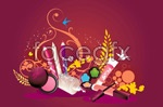 Link toCosmetic theme vector