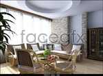 Link toCountry style living room models 3d model