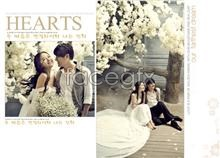 Link toCouples photo studio wedding psd template