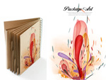 Link toCover packaging design psd