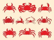 Link toCrabs set vector free