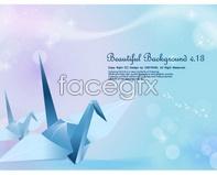 Link tovector backgrounds fantasy cranes origami thousand backgrounds fantasy and Crane