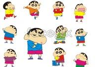 Link toCrayon shin cartoon vector s