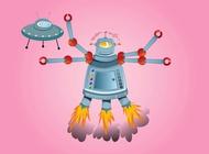 Link toCrazy robot vector free