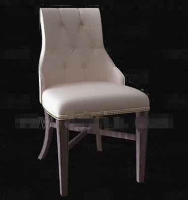 Link toCream stylish and comfortable chair 3d model