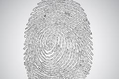 Link toCreative 01 digital fingerprint design vector graph
