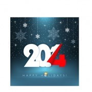 Link toCreative 2014 new year design background set 01 vector