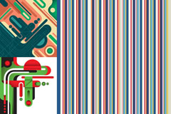 Link toCreative and colorful vector background