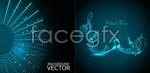 Link toCreative and dynamic background vector