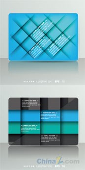 Link toCreative backgrounds blue business designs vector