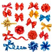 Link toCreative bow design vector set 01 free