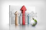 Link toCreative business arrows psd