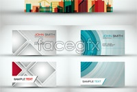 Link toCreative business card design template vector