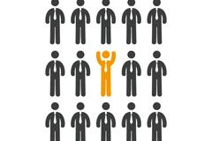Link toCreative business man success vector