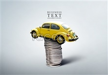 Link toCreative car with rope psd