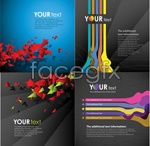 Link toCreative card background shading vector