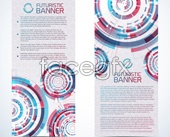Link toCreative card banner template vector
