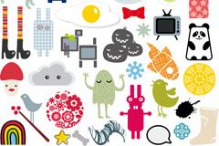Link toCreative cartoon icon vector