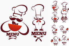 Link toCreative chef logo vector