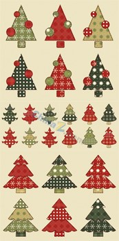 Link toCreative christmas tree designs vector