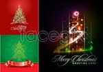 Link toCreative christmas trees vector 4