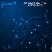 Link toCreative circuit board concept background vector 02 free