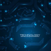 Link toCreative circuit board concept background vector 03 free