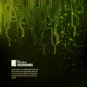 Link toCreative circuit board concept background vector 06 free