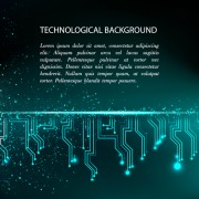 Link toCreative circuit board concept background vector 07 free